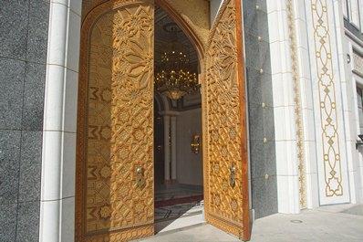Turkmenbashi Ruhy Mosque, Ashgabat vicinities