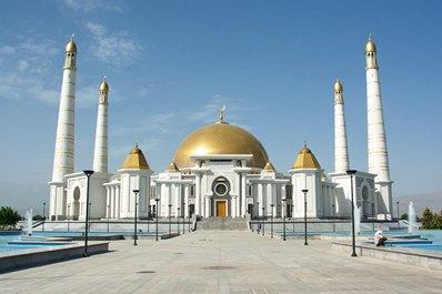 Turkmenbashi Ruhy Mosque, Gypjak village, Ashgabat vicinities