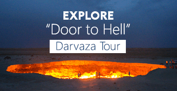 Darvaza Gas Crater Tour