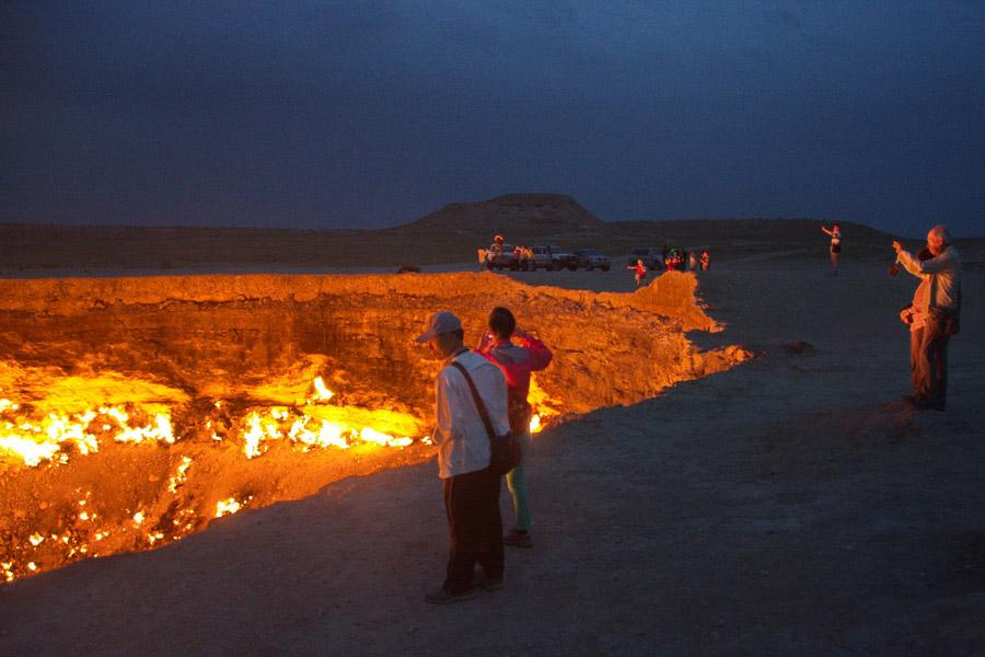 Darvaza Gas Crater Door To Hell