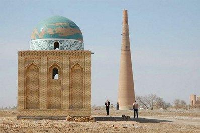 Minaret of Kutlug-Timur, Kunya-Urgench