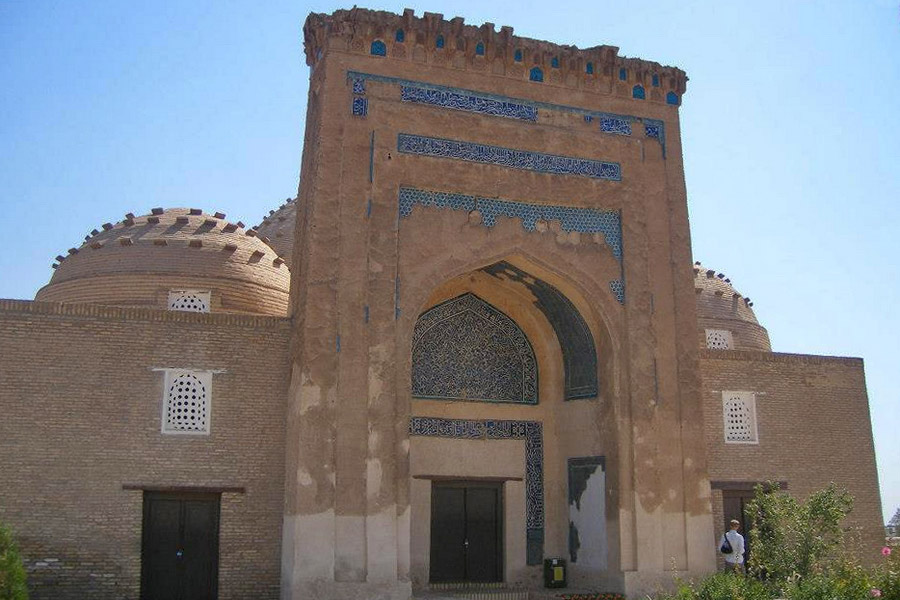 Kunya-Urgench Landmarks - Mausoleum of Nadzhimetdin Kubra