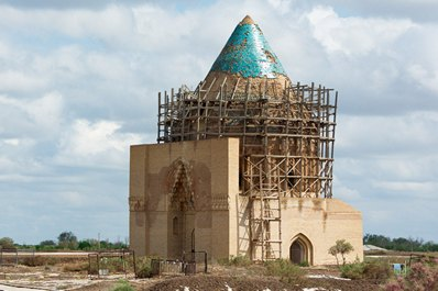 Mausoleum of Khoresmshakh Tekesh, Kunya-Urgench