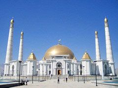 Turkmenistan Uzbekistan Tour: Ashgabat, Mary, Merv, Bukhara, Samarkand, Tashkent, Khiva, Nukus, Kunya-Urgench, Gas crater