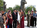 Turkmen wedding