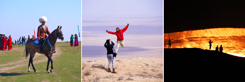 Vacation in Turkmenistan
