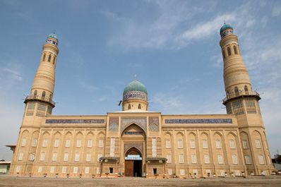 New central mosque, Andijan