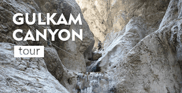 Tour to Gulkam canyon (1 day trekking)