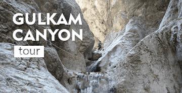 Tour to Gulkam canyon (1 day trekking)