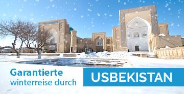 Garantierte Winterreise durch Usbekistan 2017