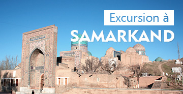 Excursion avec le guide à Samarkand