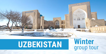Winter scheduled tours in Uzbekistan 2019