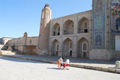 Abdullazizkhan Madrasah, Bukhara