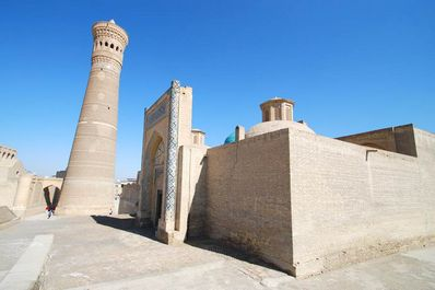 The Kalyan Minaret, Bukhara