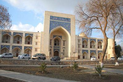 Kukeldash Madrassah, Bukhara, Uzbekistan