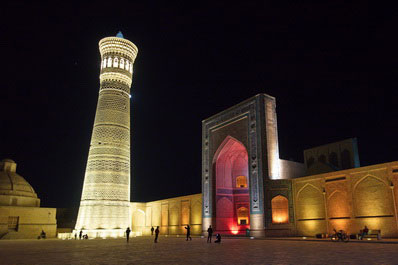 Kalyan Minaret and Mosque, Bukhara