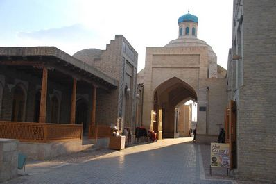 Toki-Sarrofon Trading Dome, Bukhara