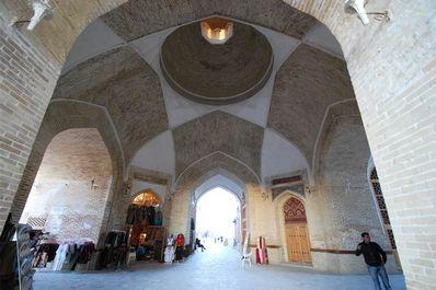 Trading domes of Bukhara