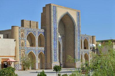 Ulugbek madrasah in Bukhara, Uzbekistan