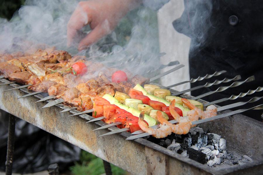 Uzbek Meat Dishes: shashlik, kazan-kabob, dimlama and others