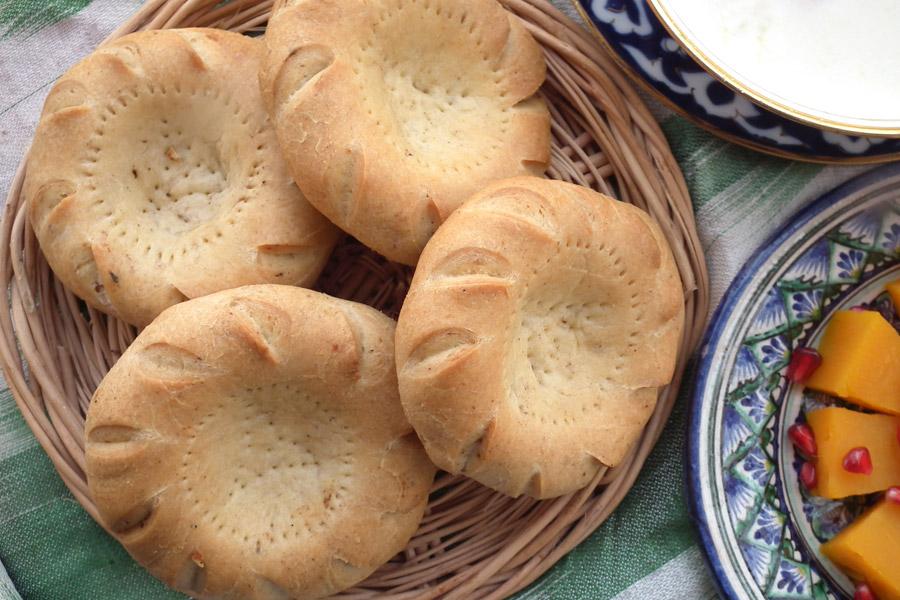 Uzbek Bread Lepeshka