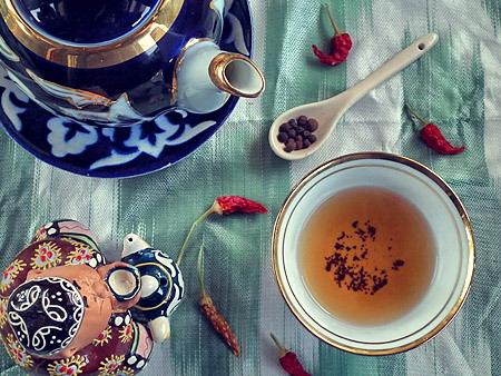 Sposób uzbecki parzenia herbaty
