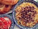 Sariegli palov - Uzbek plov on melted butter