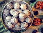 Узбекские сладости: янчмиш – десертные шарики из орехов и сухофруктов
