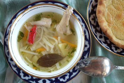 Uzbek national soup