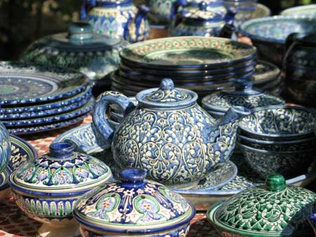 Uzbekistan Handicrafts Ceramics