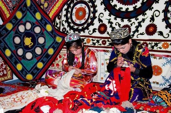 Handicrafts in Uzbekistan