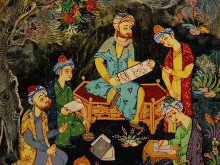 Ремесла Узбекистана: Лаковая роспись