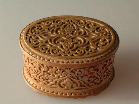 Uzbek Handicrafts Wood Carving