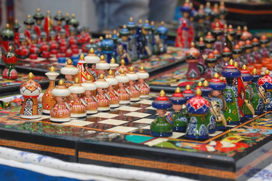 Applied Art Handicrafts In Uzbekistan
