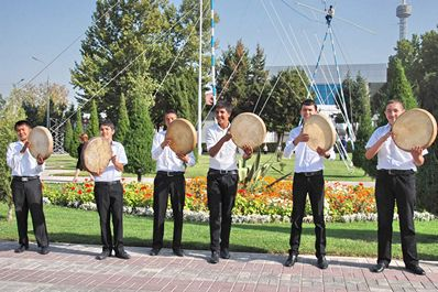 Uzbekistan musical instruments