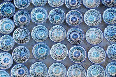 Голубая керамика - символ Риштанской школы керамистов