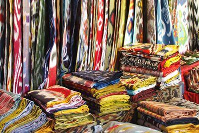 Шелковые ткани Маргилана