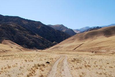 Zaamin Mountains, Uzbekistan