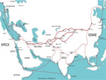 The Great Silk Road Map