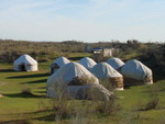 Le camp de yourtes Safari