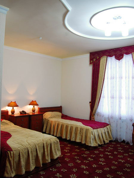 Twin Bed Hotel Room: Superior Double/Twin, Grand Nur Hotel, Tashkent
