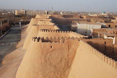 Walls of Itchan-Kala