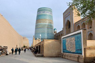 Kalta-minor Minaret, Khiva