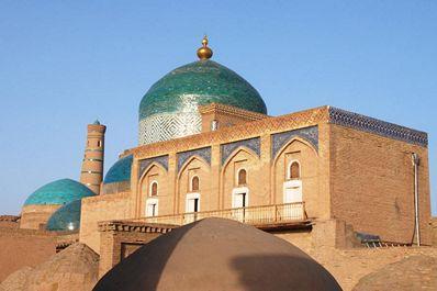 Mausoleum of Makhmud Pakhlavan, Khiva