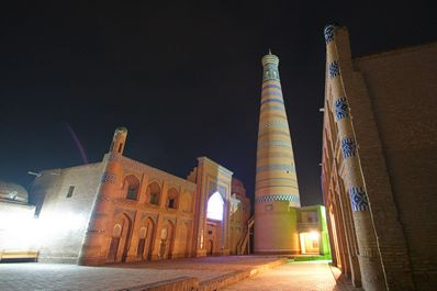 Islam Khoja mosque and minaret, Khiva