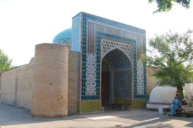 Damoi Shakhon burial vault, Kokand, Uzbekistan