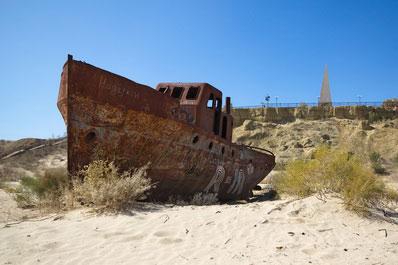 Ships cemetery, Muynak