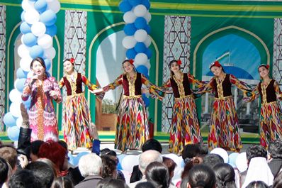 Навруз в Узбекистане