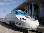 Le train Afrosiab augmente le nombre des trajets