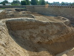 Archaeologists discovered a big city-fortress in the Ferghana Valley